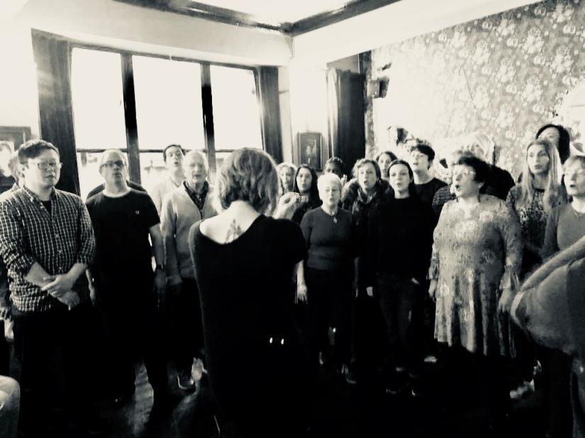Choir 17 at the Bell 2