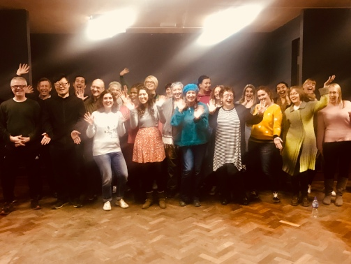 Choir 17 jazz hands